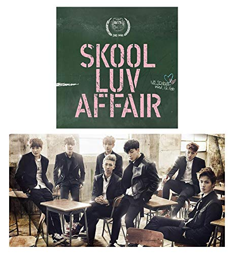 Price comparison product image BTS 2nd mini Album [SKOOL LUV AFFAIR] BANGTAN BOYS Music CD + Booklet + Photo Card + Special Gift