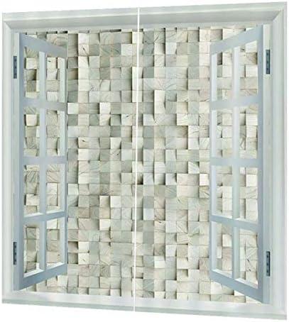 QinKingstore カーテンポリエステル繊維材料の遮光カーテンマシン洗浄150 * 166 cm家族のプライバシーを保護します。