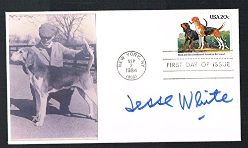 jesse-white-d-1997-signed-autograph-auto-first-day-cover-maytag-repairman