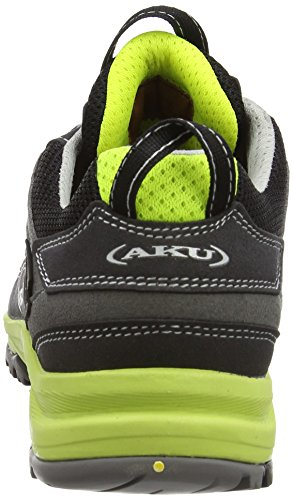 AKU Ego Gtx - Zapatillas de senderismo Unisex adulto Negro - Schwarz (BLACK/GREEN)