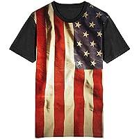 Camiseta Migian Bandeira Estados Unidos Sublimada