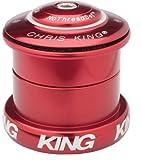 Chris King InSet 5 Headset 49mm 1-1/8-1.5'' Tapered Steer Tube Red
