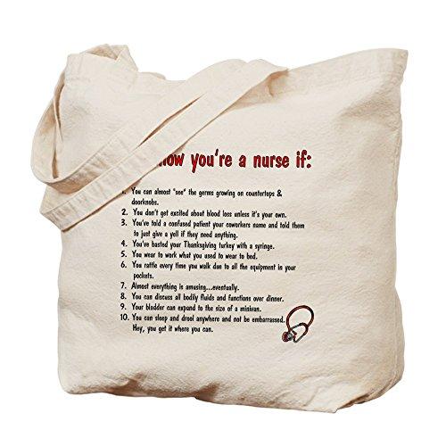 CafePress–Sei un infermiere se...–Borsa di tela naturale, panno borsa per la spesa