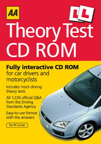 AA Theory Test CD ROM (AA Driving Test)