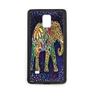 kimcase Custom Elephant Aztec Case Cover for Samsung Galaxy Note4