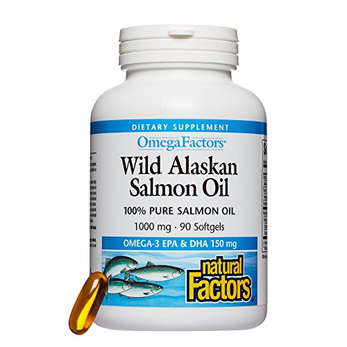 Natural Factors - Wild Alaskan Salmon Oil