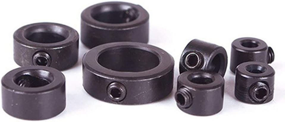 Hung Kai 8Pcs 3-16mm Dia Woodworking Drill Bit Depth Stop Collars Ring Positioner Locator Durable