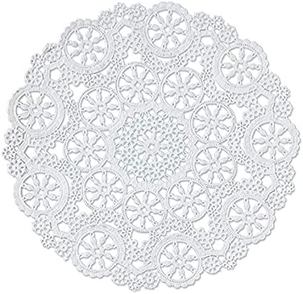 3 Pack Pack of 12 Royal Medallion Lace Round Paper Doilies 10-Inch B23005