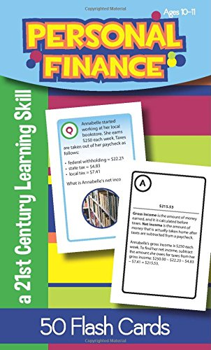 Personal Finance for Ages 10-11 Flash Cards