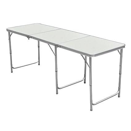 Nestling® Aluminio Portable Mesa Plegable Camping Banquetes ...