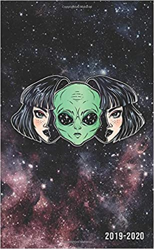 2019-2020: Nifty Galaxy Space Girl Two-Year Monthly Pocket ...