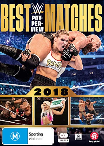 WWE: Best Pay-per-View Matches 2018 | NON-USA Format | Region 4 Import - Australia