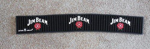 Jim Beam Bar - Jim Beam Bar Rail Spill Mat