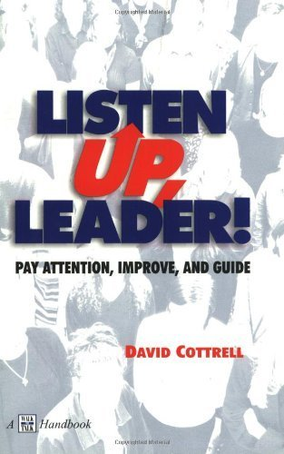 Listen Up, Leader! by Cottrell, David (September 1, 2000) Paperback 2nd