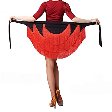 YOUMU - Falda de Baile para Mujer, diseño de Salsa Latina, Mujer ...