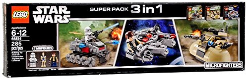 LEGO Star Wars Super Pack 3 in 1 66514