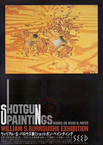 Shotgun Paintings: Works on Wood and Paper 1990 Japanese B2 Poster