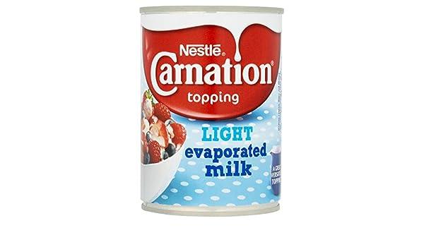 Carnation La Luz Se Evaporó La Leche 410g: Amazon.es: Alimentación y bebidas