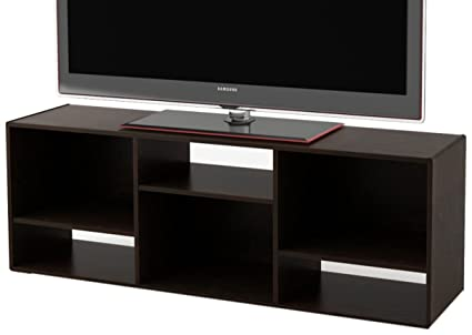 Ameriwood Home Nash Bookcase/TV Stand For TVs Up To 60, Espresso