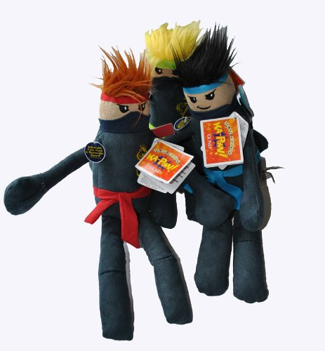 Gund Ninja Kapow Dragons Stuffed Plush Toy Unit Random Selection (Kapow Toys)