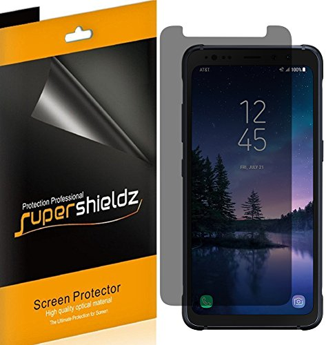 "[2 Pack] Supershieldz- Privacy Anti-Spy Screen Protector Shield for Samsung ""Galaxy S8 Active"" (Not Fit for Galaxy S8 / S8 Plus Model) Lifetime Replacements Warranty"