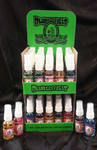 Blunteffects Air Freshener Display (50 Count) by Blunteffects