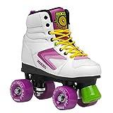 Roces 550041 Model Kolossal Roller Skate, US 3M/5W, White/Purple/Yellow