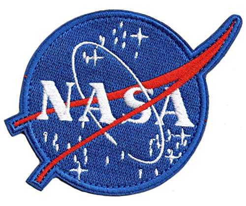 NASA Logo Detail Embroidered Decorative Patch for Clothing, Jeans, Handbags, Backpacks, Skirts, Shoes, Caps(Size: 4.88