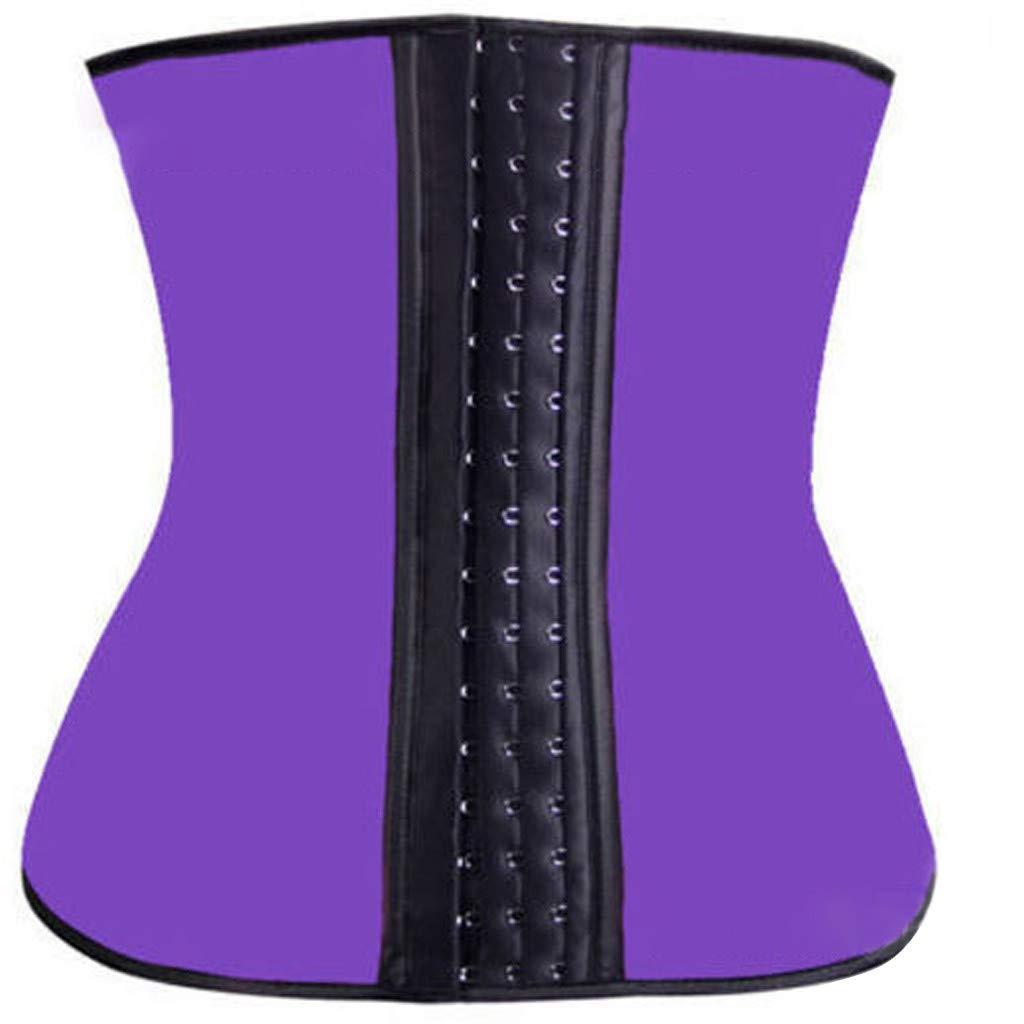 chuxin huang_Shapewear Women's Underbust Sport Girdle Waist Trainer Corsets Body Shaper Slimming Suit Pink by chuxin huang_Shapewear