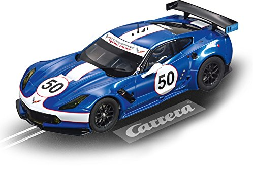 Carrera Chevrolet Corvette C7.R No.50 Spirit of Sebring '65 w/ Lights 1/24 Slot Car from Carrera