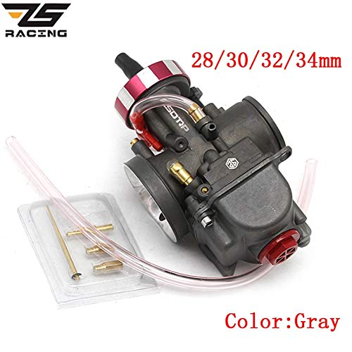 (| Carburetor | Racing 4T Engine Universal Carburetor PWK 28 30 32 34mm for Keihin Modify Off Road Motorcycle Scooter UTV ATV with Power Jets | by HUDITOOLS | 1 PCs)