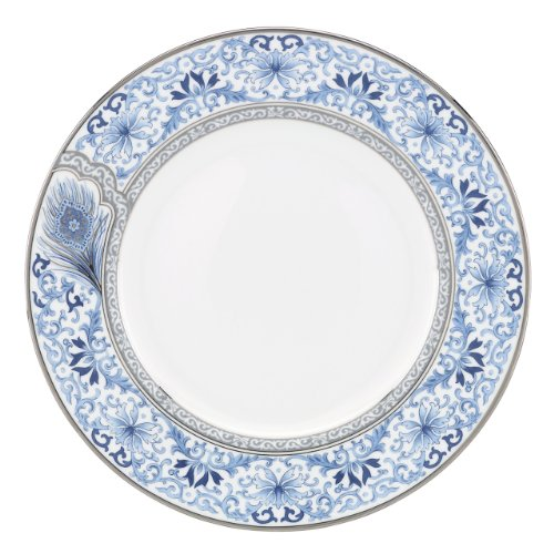 Lenox Marchesa Couture Dinner Plate, Sapphire Plume (Plate Couture Dinner)
