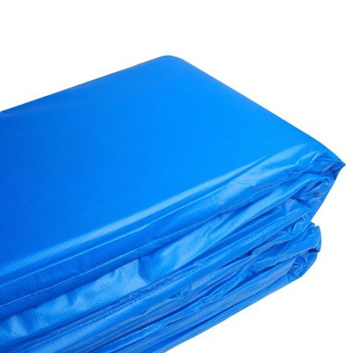 Blue Round Frame Trampoline Safety Pad 14'' with Tie Downs