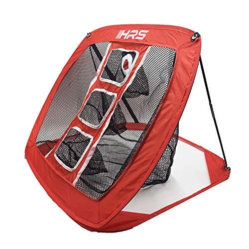 Sport Nets Pop Up Golf Chipping Net - Collapsible Indoor Outdoor Golf Golfing Target Net Big Mouth Golf Net