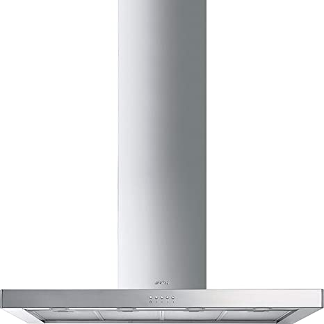 Smeg KS120 X E-2 campana chimenea 120 cm B energía acero inoxidable: Amazon.es: Grandes electrodomésticos