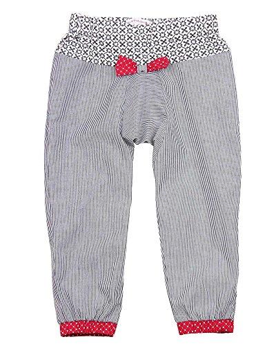 Deux par Deux Girls' Sarouel Pants Doxie Love, Sizes 18M-6 (3) by Deux par Deux