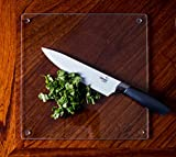 Clear Glass Cutting Board