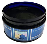 NEW LOOK!!! 100% All Natural 8oz. Charcoal Black Furniture Finishing Wax. ''No Heavy Buffing Required''