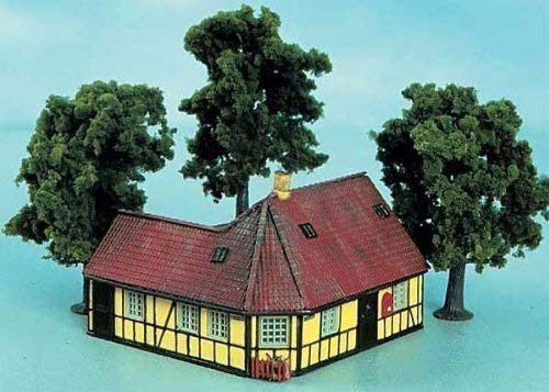 Spur H0 - Bausatz Fachwerkhaus Hans Christian Andersen Heljan