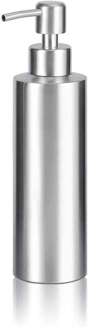 ARKTEK Soap Dispenser - Stainless Steel Rust Proof System Hand Soap Dispenser, Kitchen and Bathroom Pump for Liquid (11.8 Ounce / 350 ml)