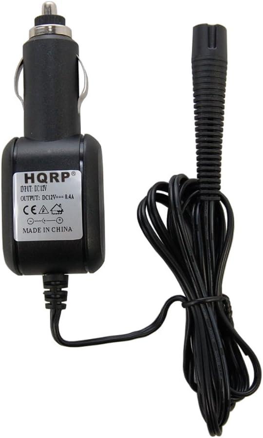 HQRP Cargador de coche para Braun Series 7 Model 790 cc-6, 799 cc-6 tipo 5696 Shaver, vehículo de 12 voltios adaptador Cable de alimentación + HQRP posavasos: Amazon.es: Electrónica