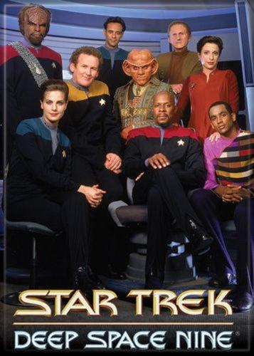 Star Trek - Deep Space Nine - Cast - Refrigerator Magnet by Ata-Boy