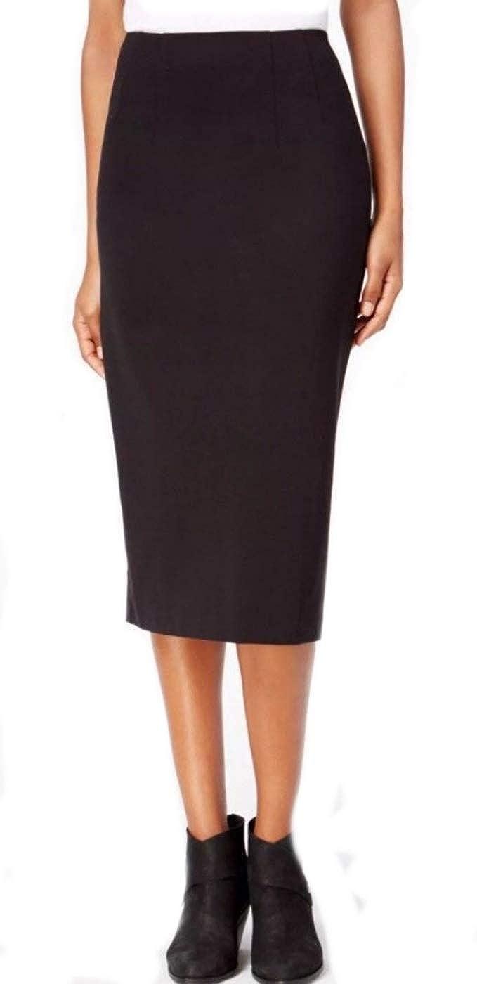 db3019c9d6 Eileen Fisher Tencel Stretch Ponte Black Skirt M at Amazon Women's Clothing  store: