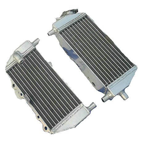 (OPL Aluminum Performance Radiator for 1994-2002 Kawasaki KX125/KX250 (Left+Right) )