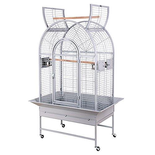 Montana Cages | Käfig New Jersey - in der Farbe Platinum die Voliere XL für Papageien