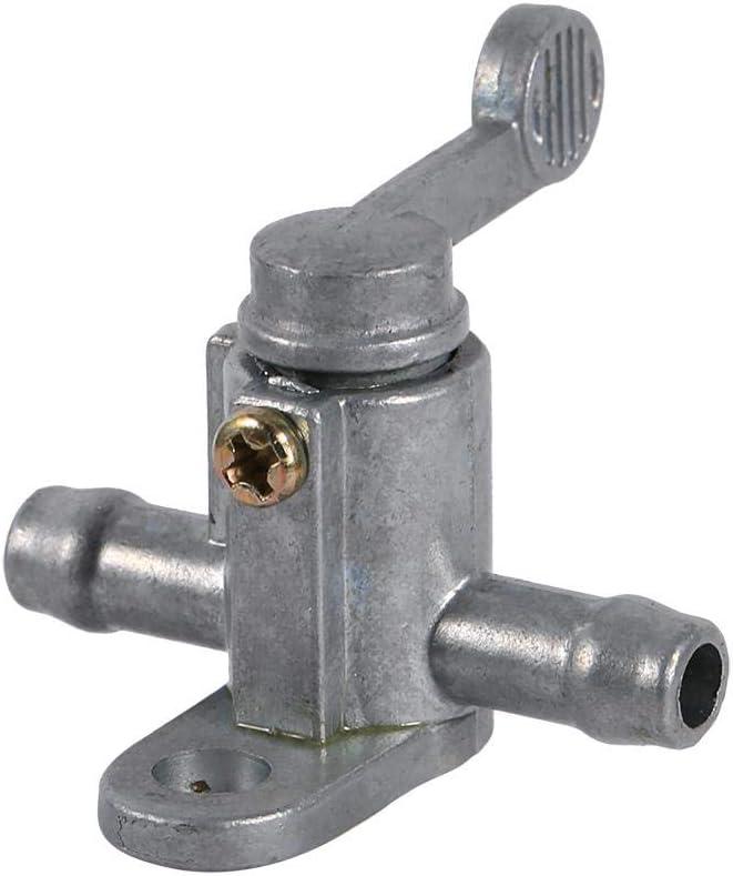 8mm 5//16  Inline-Kraftstoffhahn Motorrad Kraftstofftankschalter ein//aus Petcock-Ventil f/ür Dirt Bike ATV Quad Buggy