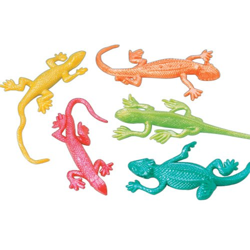 US Toy Company Stretchy Lizards (12 Packs Of 12)