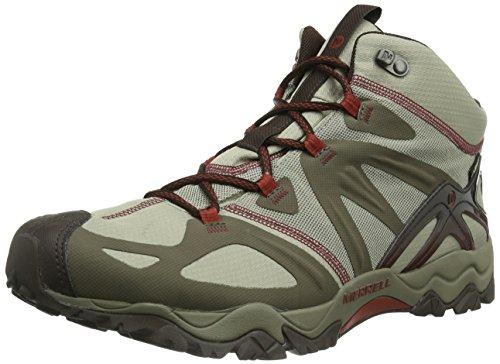 Merrell GRASSBOW MID SPORT GTX, Scarpe da escursionismo e trekking uomo Beige (Beige (Dark Taupe/Red))
