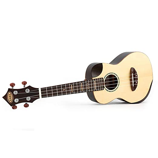 Sanqing Ukulele de 23 Pulgadas, Guitarra pequeña Hawaiana, Ukelele ...