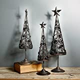 christmas tree Candle holder,European style Candlestick holders Retro Iron restaurant-A